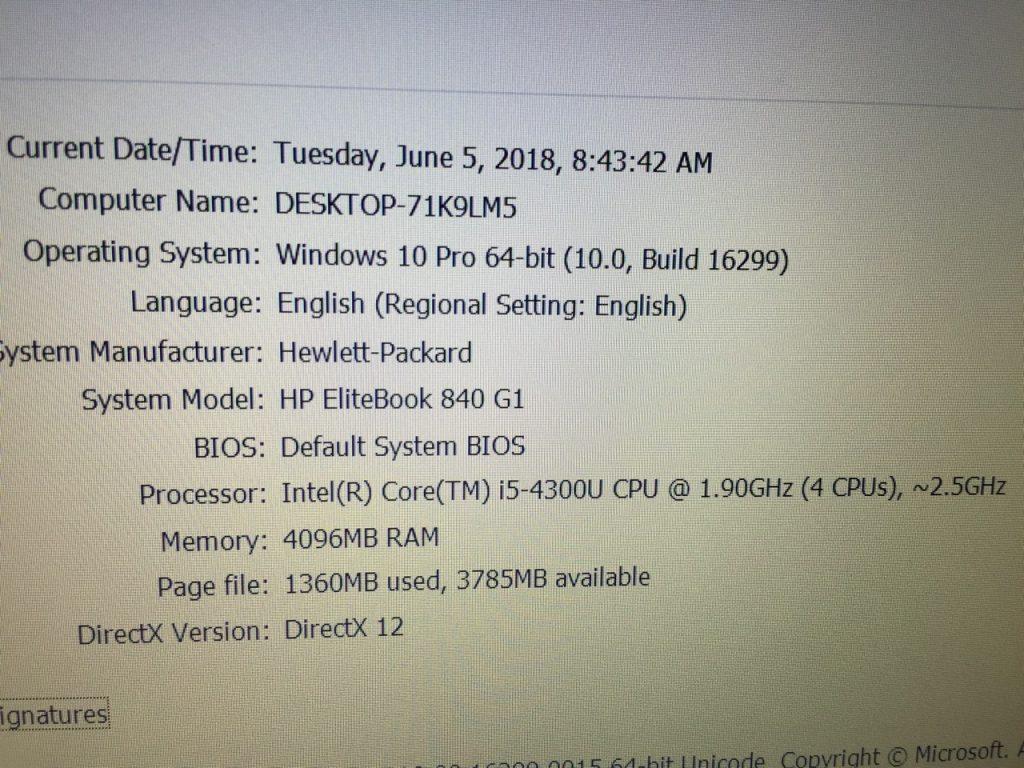 laptop cũ HP elitebook 840 G1 -4