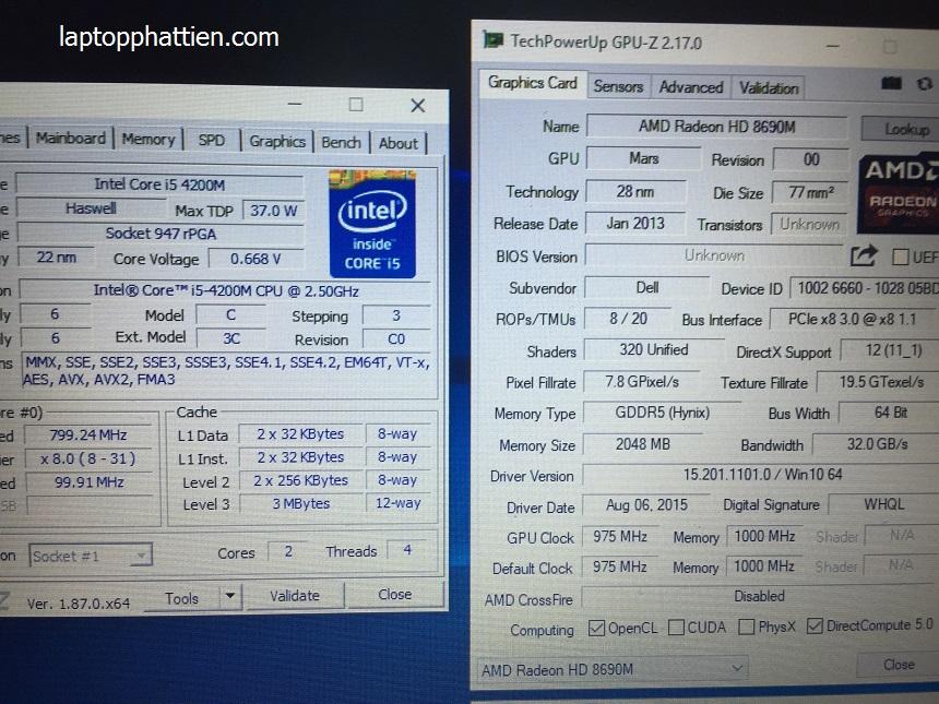 Dell lalitude E6440 xách tay mỹ giá rẻ