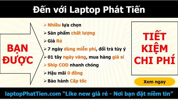 Laptop Dell E5580 địa chỉ bán laptop xách tay giá rẻ tphcm