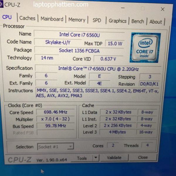 laptop siêu mỏng dell xps 9350 hcm