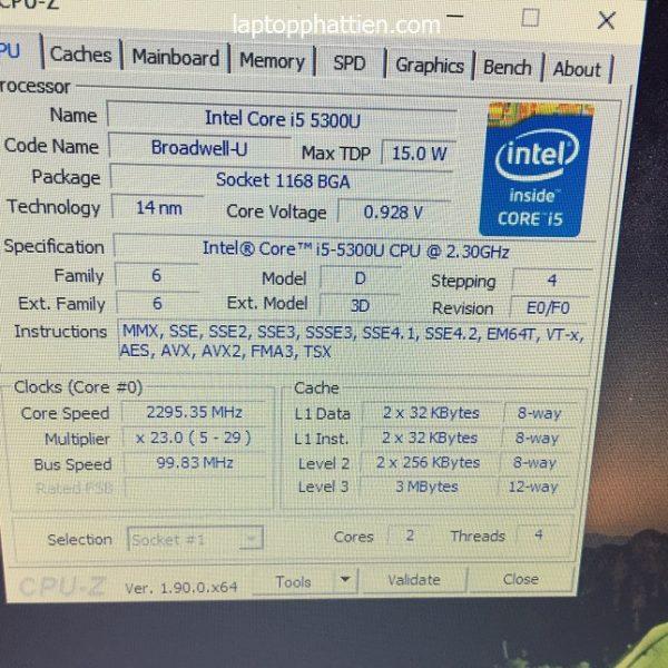 laptop dell E5250 xách tay hcm