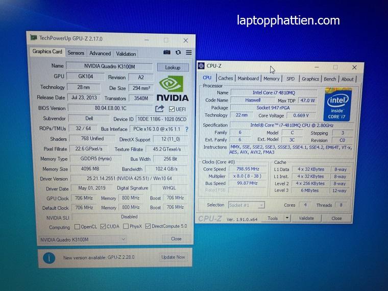 Laptop Dell M6800 I7, máy trạm dell M6800 I7 nhập khẩu giá rẻ tphcm
