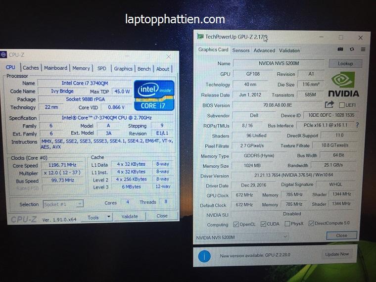 Dell lalitude E6530 I7, dell lalitude E6530 vga rời i7 ful hd giá rẻ hcm