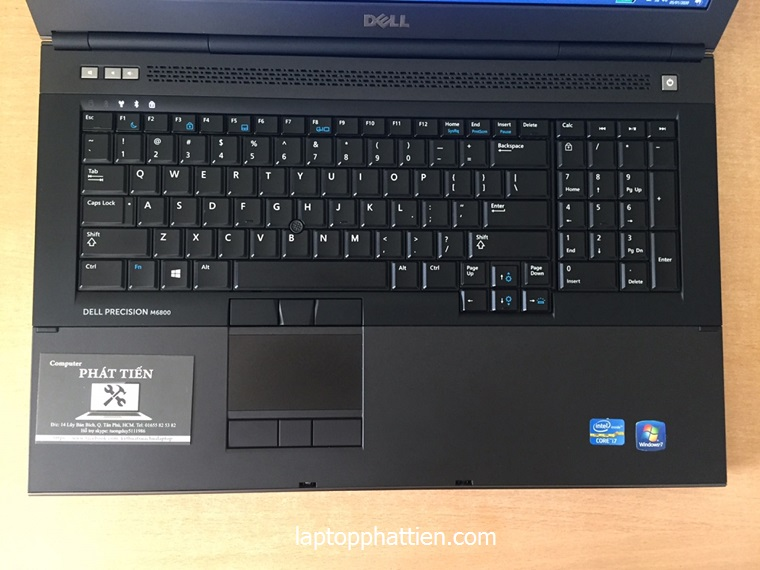 Laptop Dell M6800 I7, laptop dell M6800 nhập khẩu giá sỉ hcm