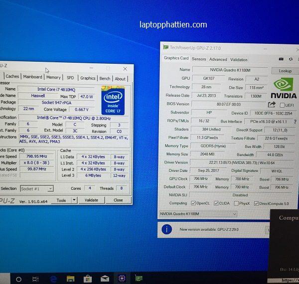 laptop HP Zbook 15 G2 nhập khẩu giá rẻ HCM