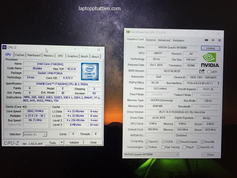 Laptop Dell Precision 5510, Dell Precision 5510 I7 vga roi HCM