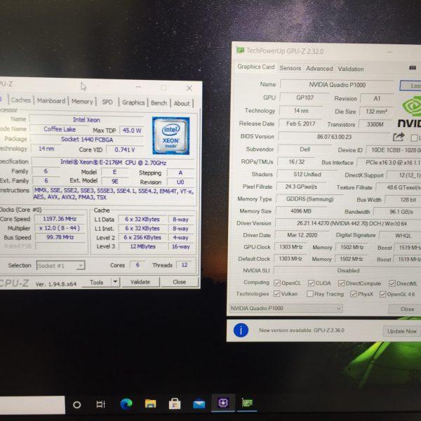 laptop dell precision 5530 xeon FHD giá rẻ HCM