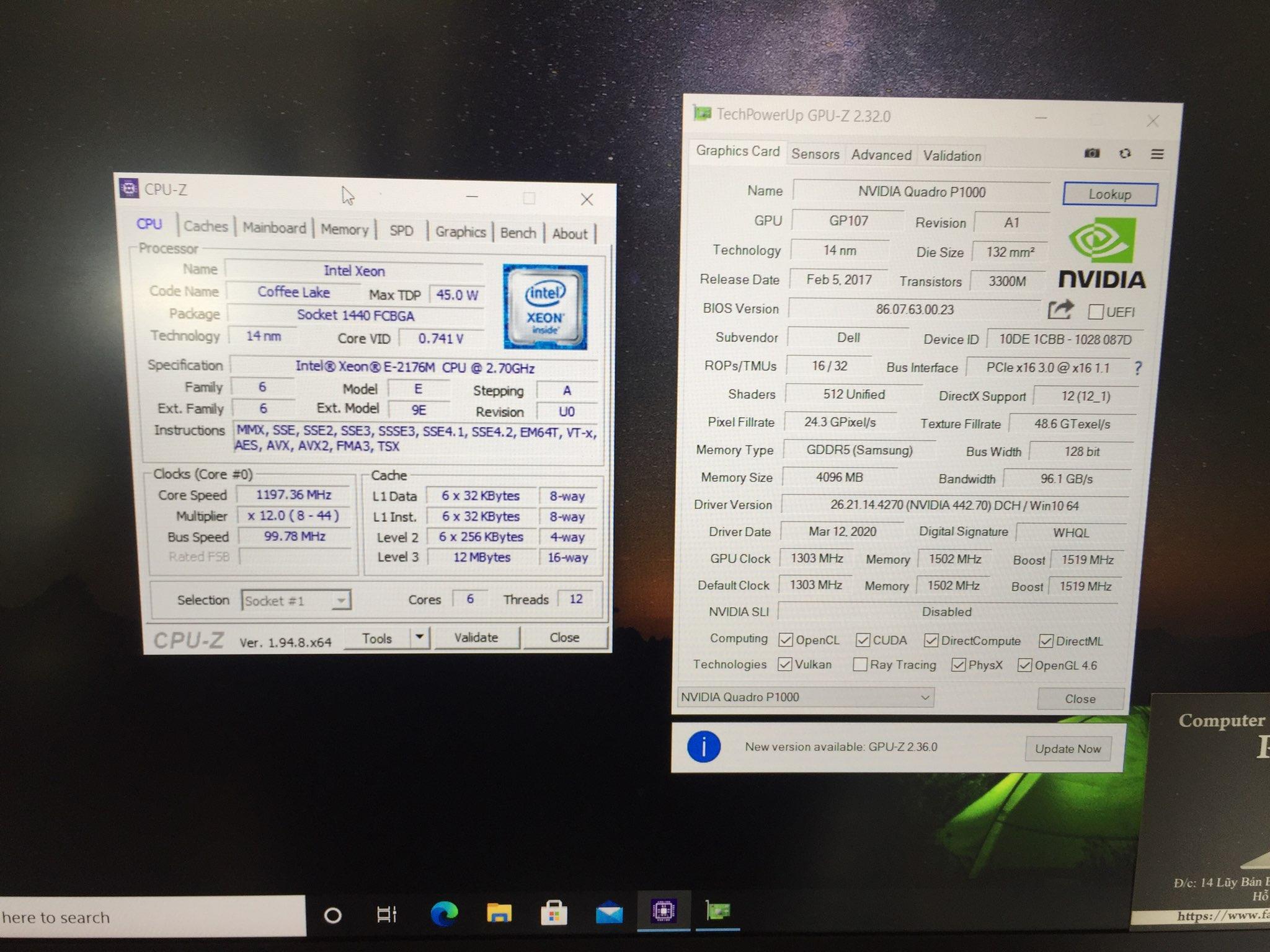 Dell Precision 5530 Xeon FHD, laptop dell precision 5530 xeon FHD giá rẻ HCM