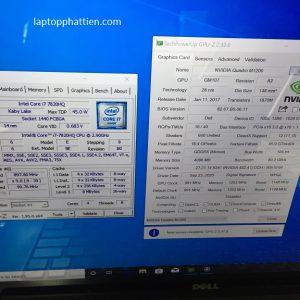 laptop dell precision 4K I7 7820HQ vga giá rẻ