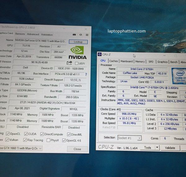 Dell Gaming G3 3590 I7 9750H Vga GTX 1660ti giá rẻ HCM