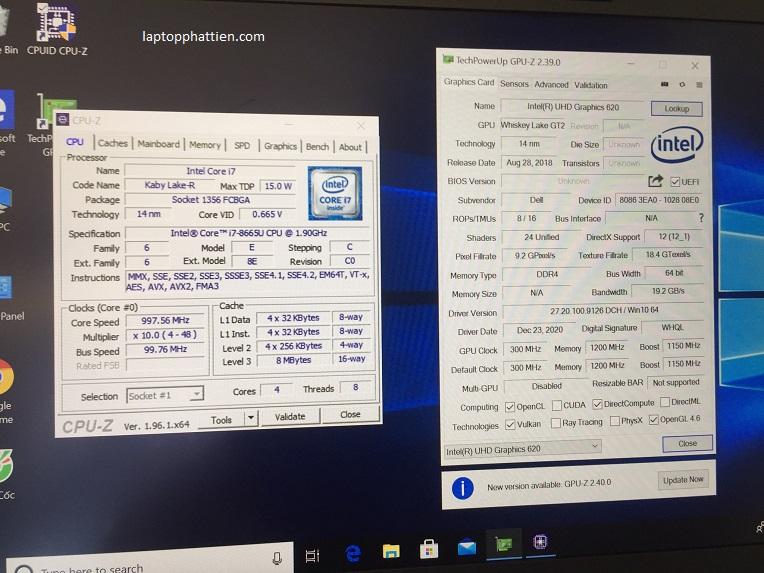 Laptop Dell Latitude 7300, laptop xách tay dell latitude 7300 i7 8665U FHD IPS